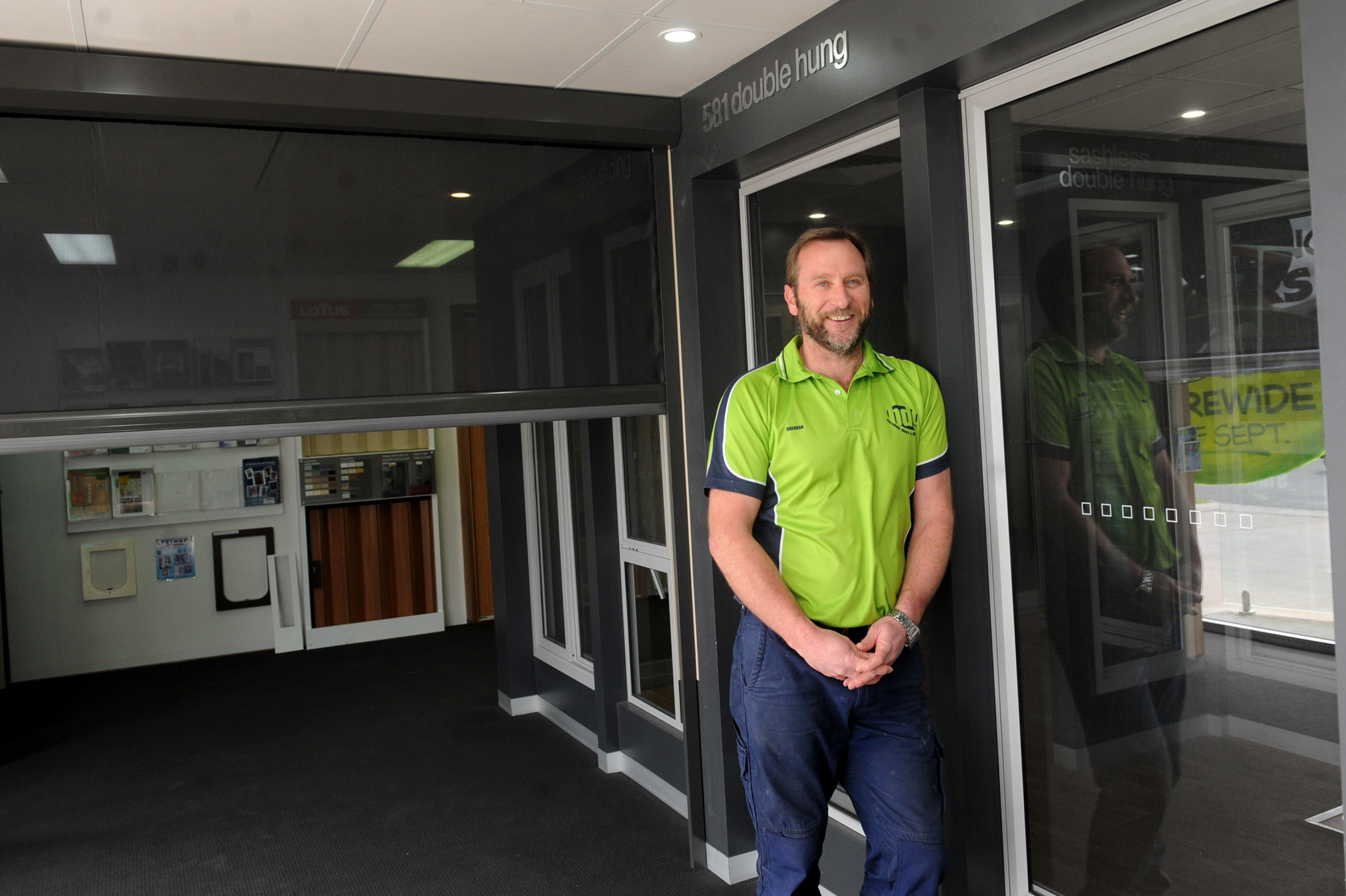 Brendan Atkins, Office Manager. Horsham Doors and Glass