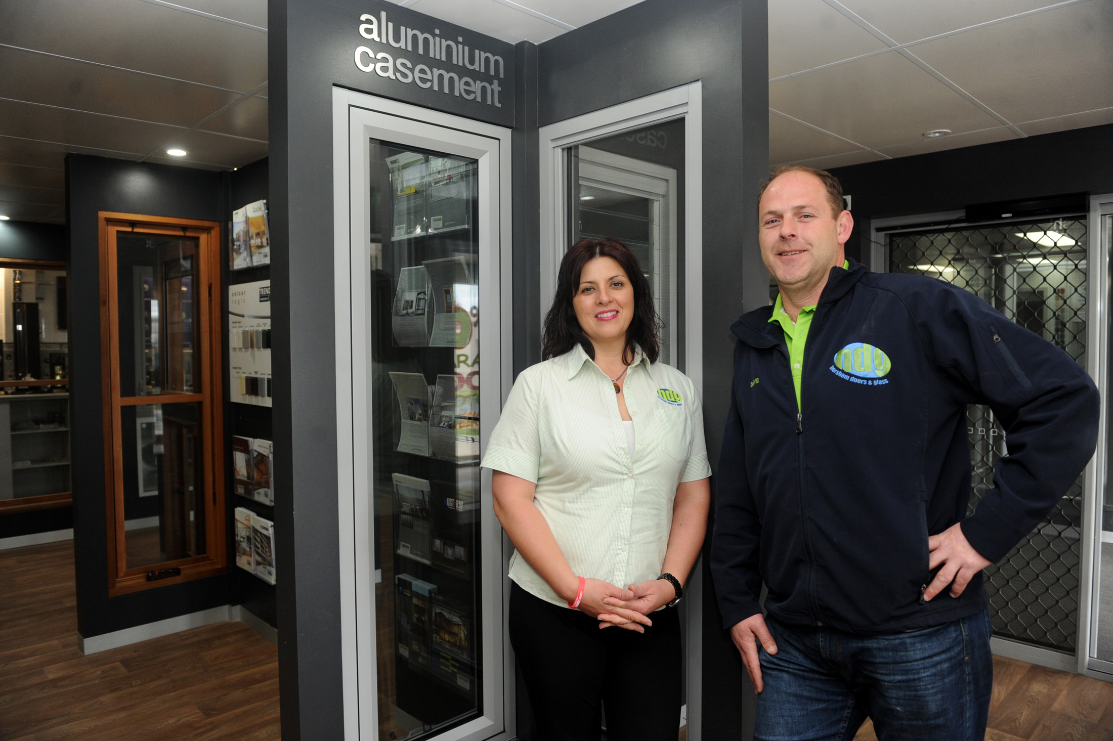 Emilia and David Johns, Horsham Doors and Glass